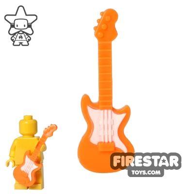 BrickForge - Electric Guitar - Orange - White Pick Guard