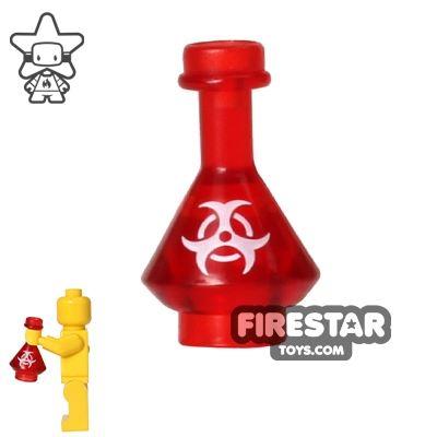 BrickForge - Potion Flask - Trans Red - Biohazard