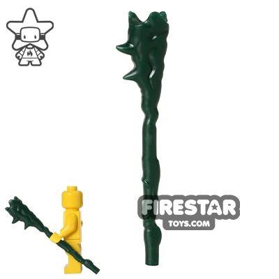 BrickForge - Wizard Staff - Dark Green