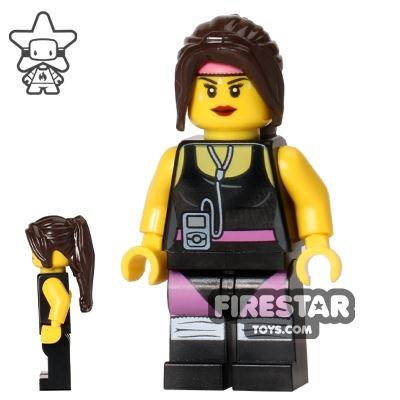 The LEGO Movie Mini Figure - Cardio Carrie