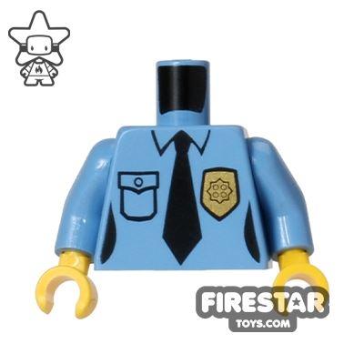 LEGO Mini Figure Torso - Police Uniform