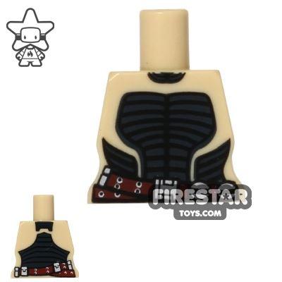 Arealight Mini Figure Torso - Battle Suit - Tan