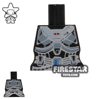 Arealight Mini Figure Torso - Space Armour - Black