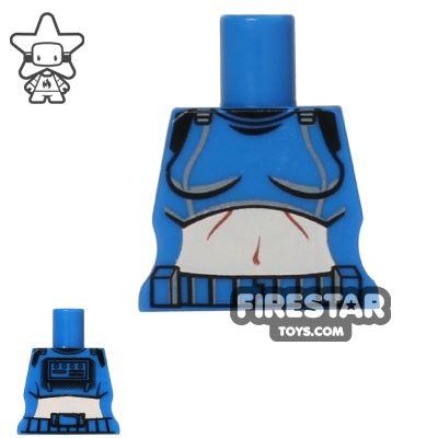 Arealight Mini Figure Torso - Femtrooper V2 - Blue