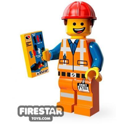 LEGO Minifigures - Hard Hat Emmet