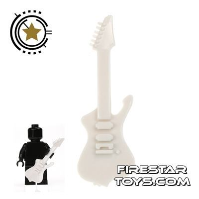 Amazing Armory - White Electric Guitar 3
