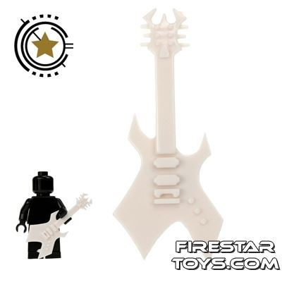 Amazing Armory - White Electric Guitar 6