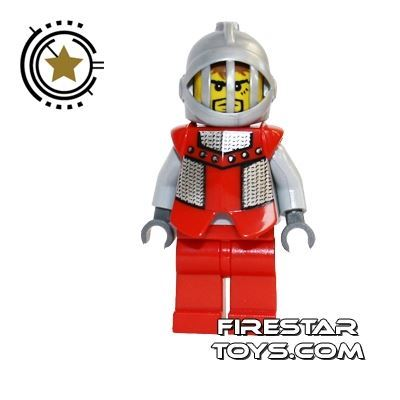 LEGO Castle - Knights Kingdom II - Royal Knight Red Armour