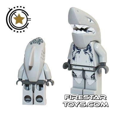 LEGO Atlantis Mini Figure - Shark Warrior