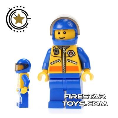 LEGO City Mini Figure - Coast Guard - Helicoper Pilot