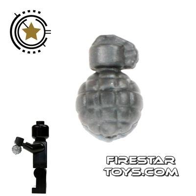 Brickarms - MK2 Grenade - Silver