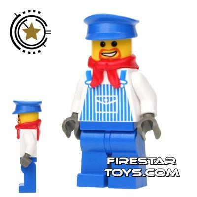 LEGO City Mini Figure - Train Engineer Max