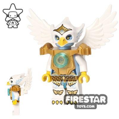 LEGO Legends of Chima Mini Figure - Eris - Pearl Gold Heavy Armour