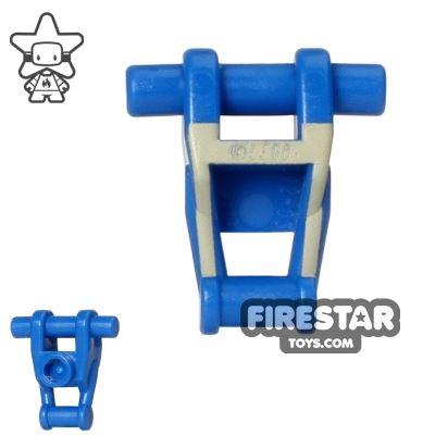 LEGO Mini Figure Torso - Star Wars Battle Droid - Blue with Tan Insignia Pattern