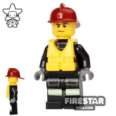 LEGO City Mini Figure – Fire - Life Jacket 3
