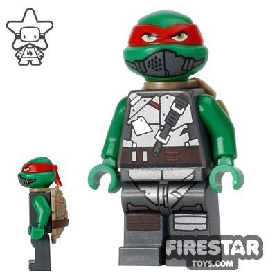 LEGO Teenage Mutant Ninja Turtles Mini Figure - Raphael with Armour