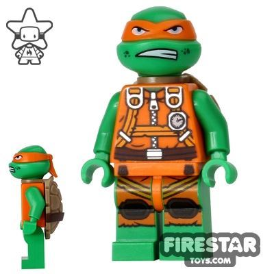 LEGO Teenage Mutant Ninja Turtles Mini Figure - Michelangelo - Jumpsuit