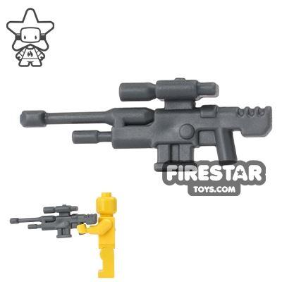 BrickForge - Anti-Material Sniper - Dark Blueish Gray