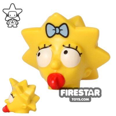 LEGO Mini Figure Heads - The Simpsons - Maggie Simpson