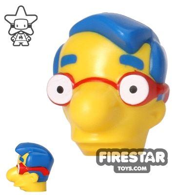 LEGO Mini Figure Heads - The Simpsons - Milhouse