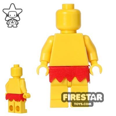 LEGO - Fringed Skirt - Red