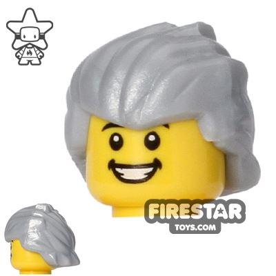BrickForge Hair - Hero Hair - Pearl Silver