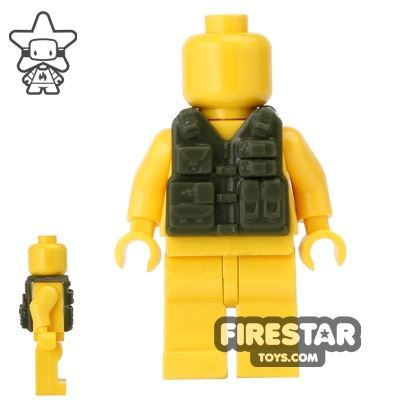 CombatBrick - Tactical Vest - Dark Green