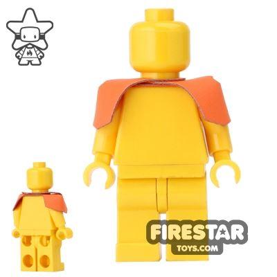 Custom Design - Shoulder Armour - Orange