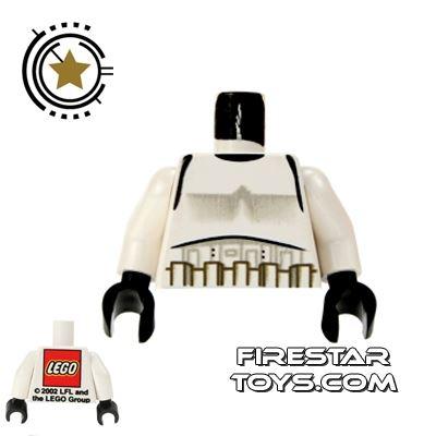 LEGO Mini Figure Torso - Rare Star Wars Trooper - LEGO Logo