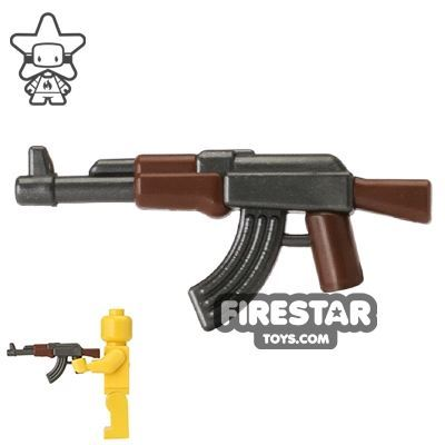 Brickarms - AK47 Reloaded - Overmolded Gunmetal and Brown