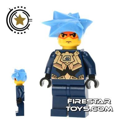 LEGO Exo Force Mini Figure - Hikaru Dark Blue