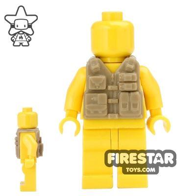 CombatBrick - Tactical Vest - Dark Tan