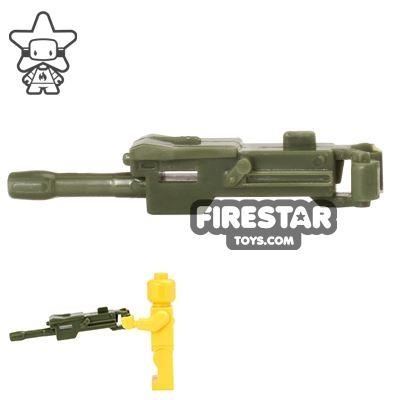 CombatBrick - MK19 Automatic Grenade Launcher - Dark Green