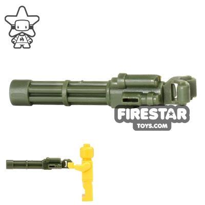 CombatBrick - Minigun - Dark Green