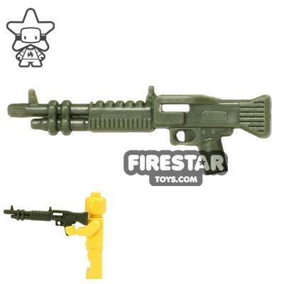 CombatBrick - M60 Machine Gun - Dark Green