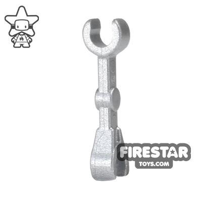 LEGO Mini Figure Arms - Battle Droid Arm - Metallic Silver