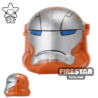 Arealight - Printed Igor Combat Helmet - Dark Orange