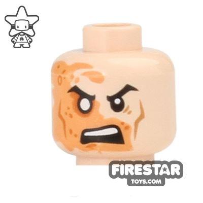 LEGO Mini Figure Heads - Shredder - Angry