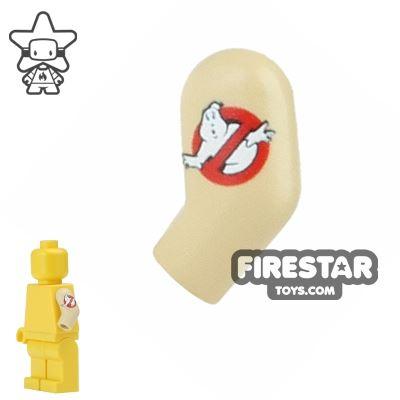 Custom Design Left Arm - Ghostbusters Sleeve - Tan