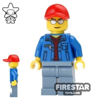 LEGO City Mini Figure - Sunglasses and Cap