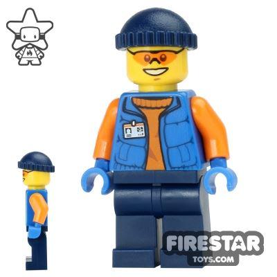 LEGO City Mini Figure - Arctic Research Assistant