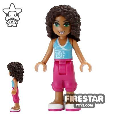 LEGO Friends Mini Figure - Andrea - Cropped Trousers