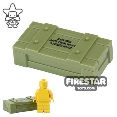 BrickForge - Weapons Crate - RIGGED System - Olive Green Anti Tank