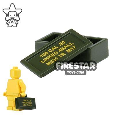BrickForge - Ammo Case - .50 CAL - Army Green