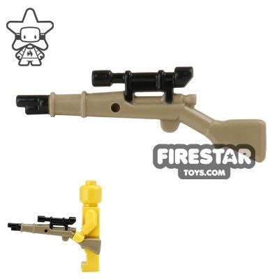 BrickForge - 1903 Springfield Rifle - RIGGED System - Dark Tan and Black