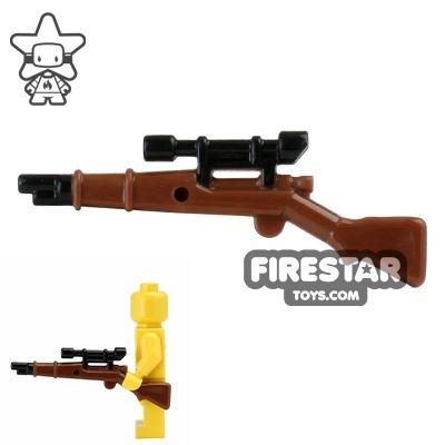 BrickForge - 1903 Springfield Rifle - RIGGED System - Reddish Brown and Black