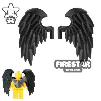 BrickWarriors - Bird Wings - Black