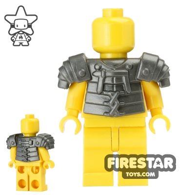 BrickWarriors - Lorica Segmentata Armour - Steel