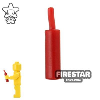 BrickWarriors - Dynamite - Dark Red