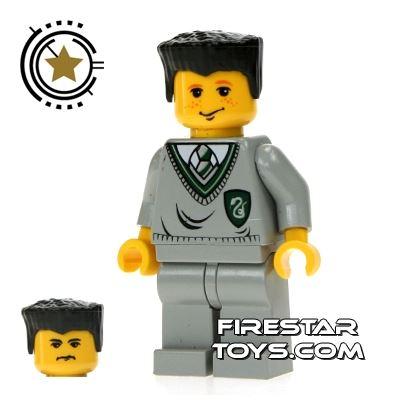 LEGO Harry Potter Mini Figure -  Ron/Crabbe Slytherin Logo